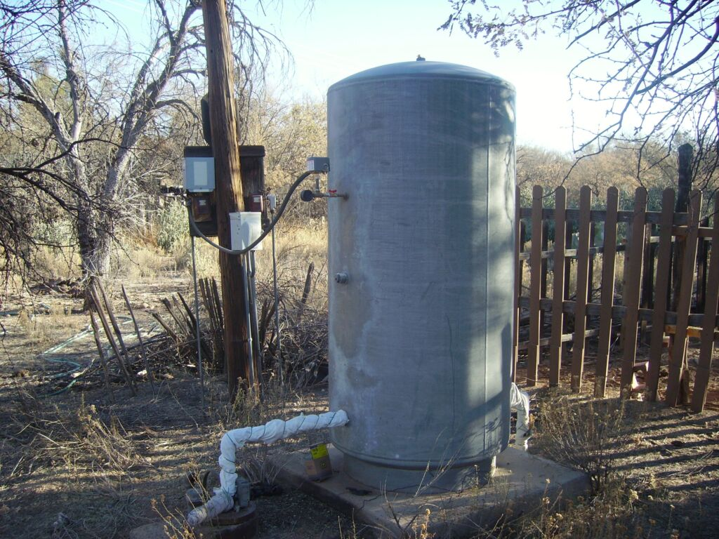 Old style pressure tank