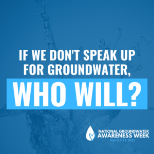 National Groundwater Awareness Week 2021