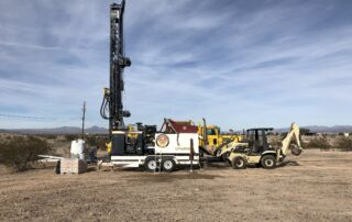 All the equipment necessary to drill mud rotary